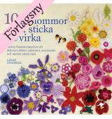 100 blommor att sticka och virka