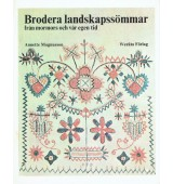 Brodera landskapssömmar från mormors och vår egen tid