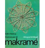 Knytmönster till Makramé