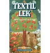 Textil lek med tyg, nål och tråd